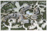 Architectural rendering of Kananaskis Village, Alberta, Canada;