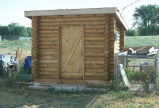 New log storage shed (GCCS_CDR004_12)