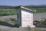 Frame outhouse on Box Elder Road Department site (GCCS_CDR004_4)
