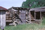 William Charles Kimber's log shed (GCCS_CDR006_9)