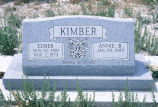 Annie and Elmer Kimber graves (GCCS_CCE006_9)