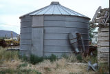 Metal silo at the Reese Warburton complex (GCCS_CDR022_16)
