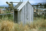 Board and batten outhouse at the Reese Warburton complex (GCCS_CDR022_17)