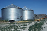 Metal silos at the Fletcher Ranch complex (GCCS_CDR025_8)