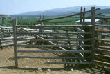 Fencing details of Edward Frost Ranch corral (GCCS_CTC005_19)