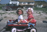 Children in wagon at Fourth of July Parade (GCCS_CTC024_16)
