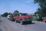 Max Tanner and truck in Fourth of July Parade (GCCS_CTC024_2)