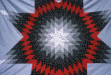 Pieced lone star design quilt top (GCCS_CCE011_13)