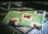 Pieced quilt (butterfly design) (GCCS_CCE011_19)