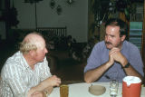 Doug Tanner of Grouse Creek and Hal Cannon, Grouse Creek Cultural Survey fieldworker...