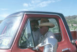 Max Tanner with Hal Cannon in pickup truck (GCCS_CTC034_2)