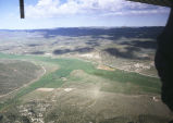 Aerial photograph of Grouse Creek Valley, Utah (GCCS_CHC018_3)