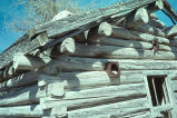 Detail of log cabin (GCCS_CHC016_3)