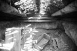 Interior view of root cellar by the A. Raymond Tanner House (GCCS_BRR25557_7)