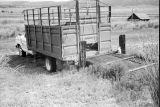 Wooden loading ramp and truck at the Charles Toyn Ranch (GCCS_BRR25558_12)