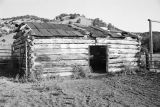 Exterior view of the barn or stable at the Charles Toyn ranch (GCCS_BRR25559_11)