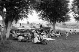 Eating lunch and socializing during the 4th of July celebration (GCCS_BCF231196_1_13)