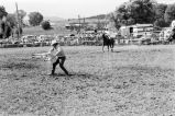 Calf-roping competition during the Fourth of July rodeo (GCCS_BCF231196_6_14)