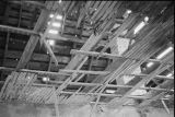 Interior view upwards from southeast corner of Allen N. Tanner house (GCCS_BCE25499_16)
