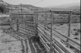 Side view of chute and opening at old Frost ranch (GCCS_BCE25502_1A)