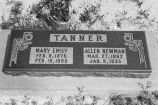 Allen Newman Tanner headstone in Grouse Creek cemetery (GCCS_BCE25572_22)