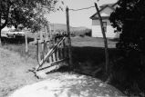 Homemade gate in front of Dwight Warburton's home (GCCS_BHC25555_21)