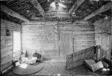 Inside of original cabin at Warburton Ranch site (GCCS_BHC25585_7)