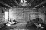 Inside of original cabin at Warburton Ranch site (GCCS_BHC25585_9)