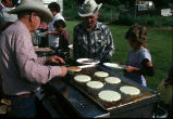 Cooking pancakes for Fourth of July breakfast (GCCS_CCF013_12)