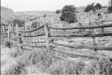 Pole fence and corral on ranch near old Etna Dam (GCCS_BTC25588_16)
