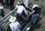 Getting mounted on a bronc (GCCS_CCF017_10)