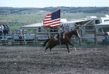 Racing flags around the rodeo arena (GCCS_CCF017_2)