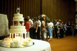 Wedding reception and cake of JoLene and Brian Thompson (GCCS_CCF019_7)