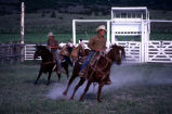 Local riders figure out the newly prepared rodeo grounds (GCCS_CCE013_18)