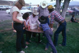 Buckaroos signing up to participate in 4th of July rodeo (GCCS_CCE016_13)