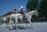 Kids on horseback in 4th of July parade (GCCS_CCE015_2)