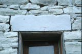 Lintel over window of stone granary (GCCS_CDR002_2)