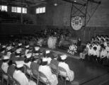 Class of 1960 Graduation ceremony;