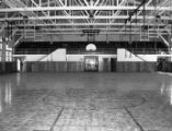 Interior of the gym facility on the Intermountain School campus;