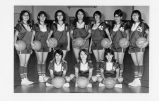 Girls' basketball team;
