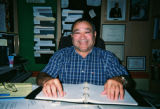 Photograph of Leo Bravo at his...