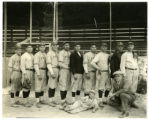 Photograph of Carbon County High School baseball team, 1917;