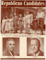 Pamphlet depicting the Republican candidates for the 1948 Utah elections;