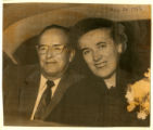 Photograph of J. Bracken Lee and Margaret Lee, August 20, 1956;