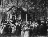 May Day in Mendon around 1898