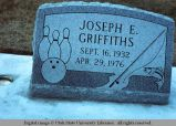 Gravemarker, Shelley, Idaho, 1977