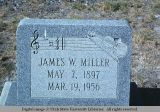 Gravemarker, Battle Mountain, Nevada, 1977