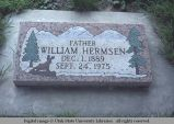 Gravemarker, Waitsburg, Washington, 1977