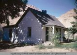 Stuccoed adobe house, Moab, Utah, 1953