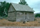 Log house, Ephraim, Utah, 1975